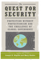 """Image for """"The Quest for Security: Protection without Protectionism and the Challenge of Global Governance"""" Book Launch"""