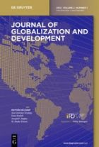 Image for Call for Papers for the Journal of Globalization and Development: Special Issues